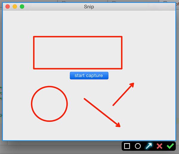 Mac OS X 下的截屏实现:Mac