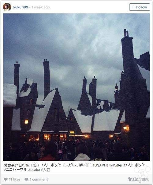 Instagram:2014年最火的日本景点Top 10