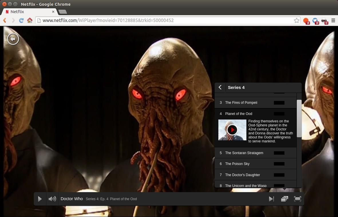 Netflix支持 Ubuntu 上原生回放