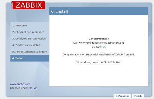 Zabbix的安装与部署
