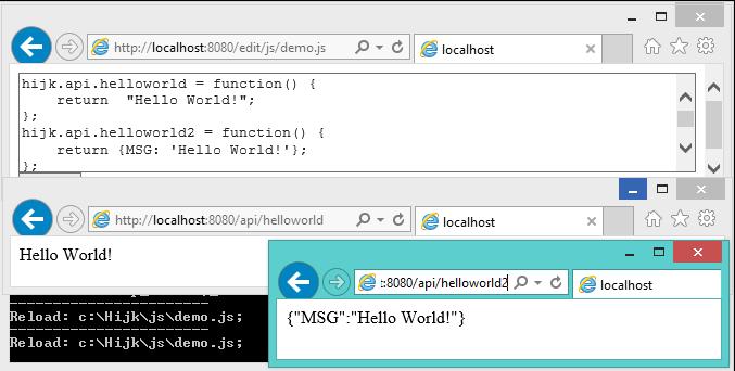 WebAPI开发包:hijk