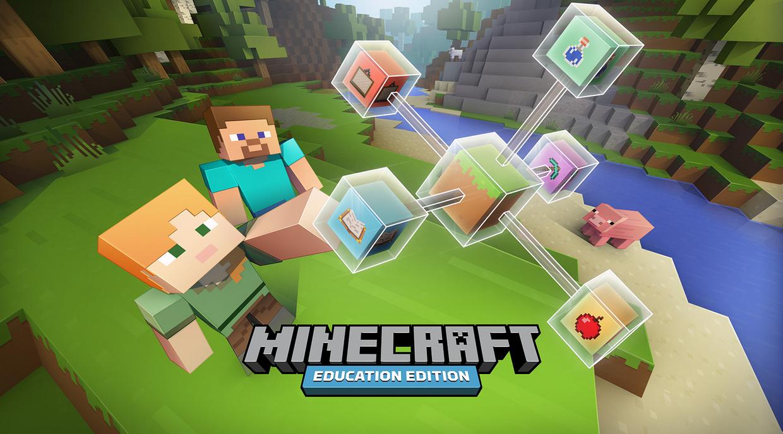寓教于乐:微软发布教育版Minecraft