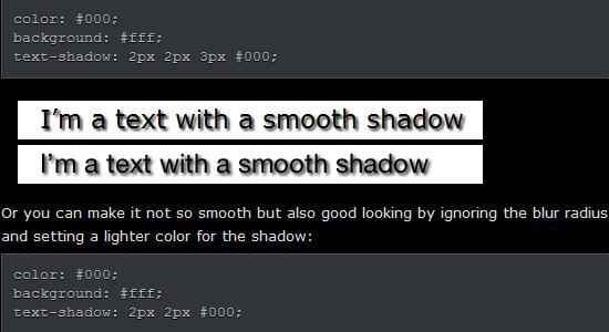 惊人的CSS3文字效果教程