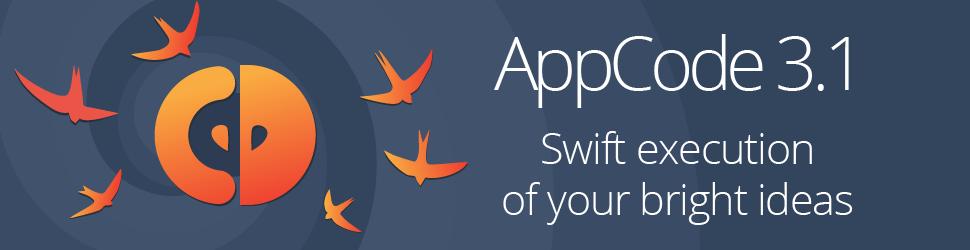 AppCode 3.1 发布,全面支持 Swift