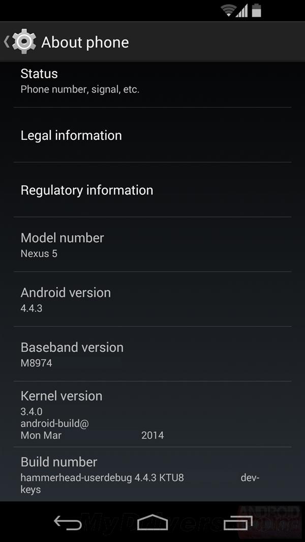 安卓 4.4.3 细节、截图首曝:修复一大堆Bug