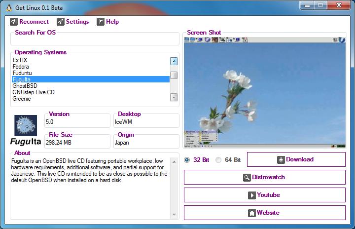 查找各种Linux发行版的Windows工具子 - Get Linux