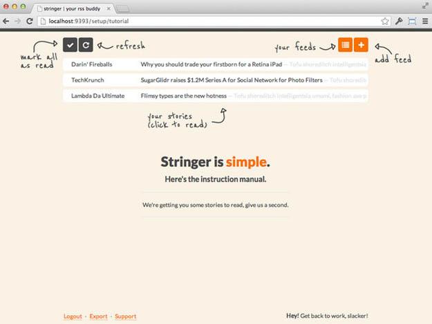 stringer-rss-reader