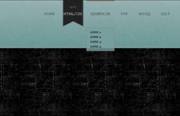 创建HTML5,CSS3和jQuery的下拉菜单
