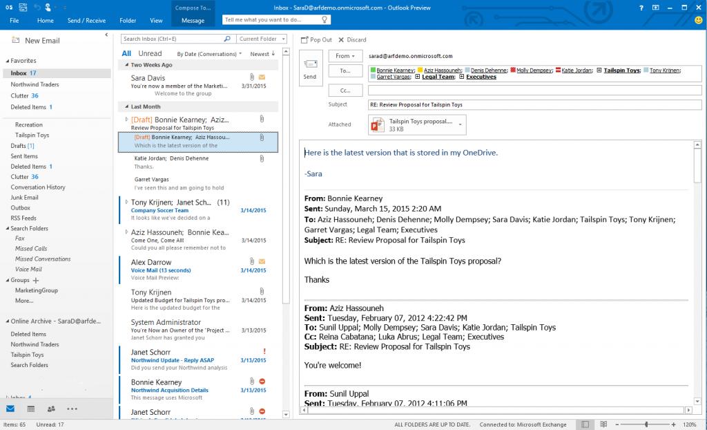 Office 2016 公众预览版正式开放下载