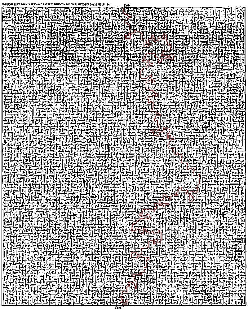 如何用程序解图片迷宫?