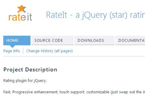 用于用户评分/评价的开源JavaScript插件
