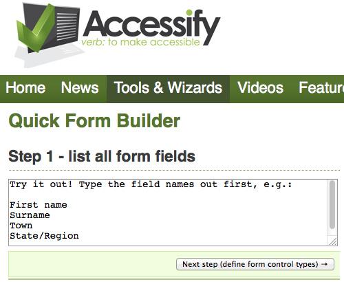5 个免费的在线HTML表单构建器