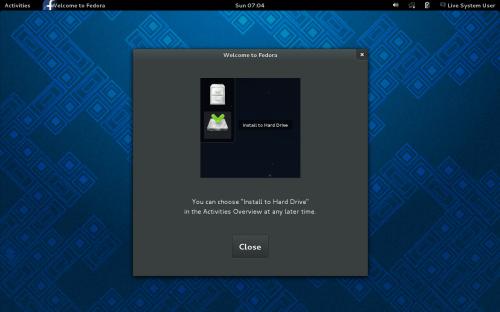 Fedora Linux 19 Alpha 试用+截图