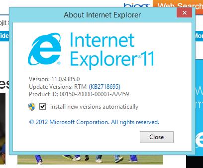 "Internet Explorer 11: ""请不要再叫我 IE"""