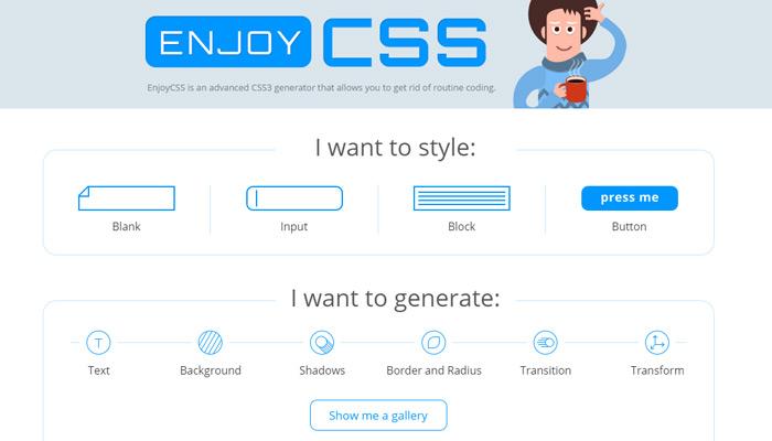 10个顶级的CSS3代码生成器