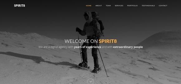 40 个最好的免费 Bootstrap HTML5 网站模板