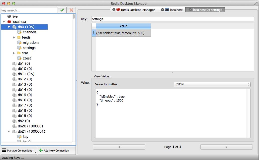Redis 桌面管理工具,Redis Desktop Manager 0.8.2 发布