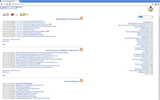 基于MongoDB的新闻聚合器,pyAggr3g470r 3.6 发布
