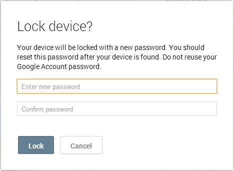 谷歌推出Android手机远程锁定功能