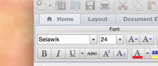 微软注册Selawik商标 用于全新开源字体
