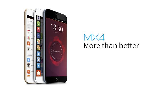 魅族MX4 Ubuntu正式亮相