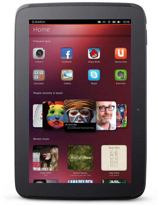 Canonical 发布 Ubuntu 平板操作系统