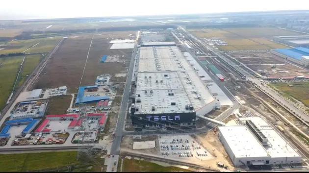 特斯拉上海超级工厂,图源特斯拉微博