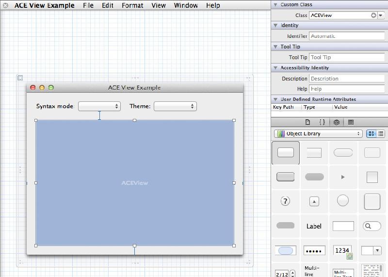 ACEView - 在Cocoa应用中嵌入ACE编程器