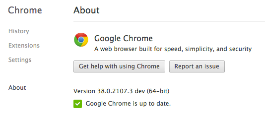Chrome for Mac 公众版将于11月全面转入64位