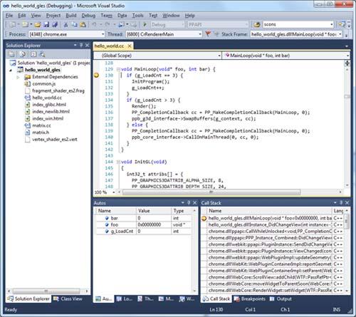 谷歌推出NaCl SDK,使用C/C++开发Web应用