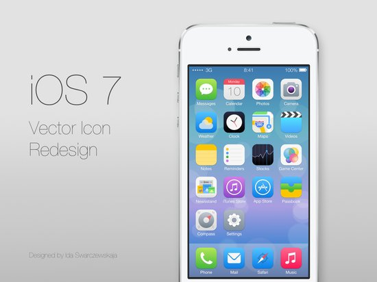 iOS 7为何要抛弃拟物化的图形界面?