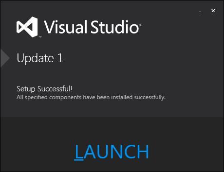 Visual Studio 2012 的首个更新发布
