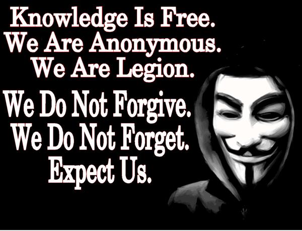 """黑客组织 Anonymous 干过的七件""""好事"""""""
