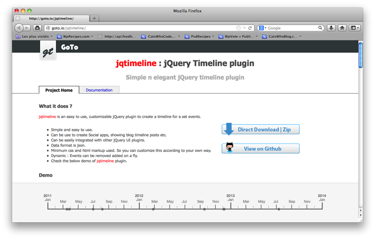10个清新奇妙的jQuery插件