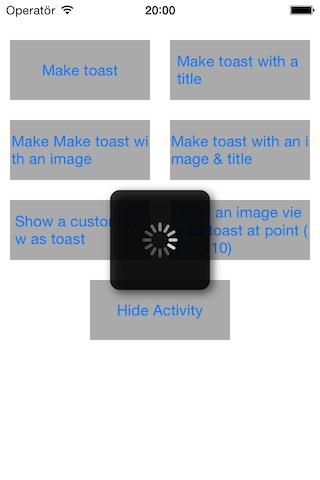 Toast 风格的消息提示:ASToast