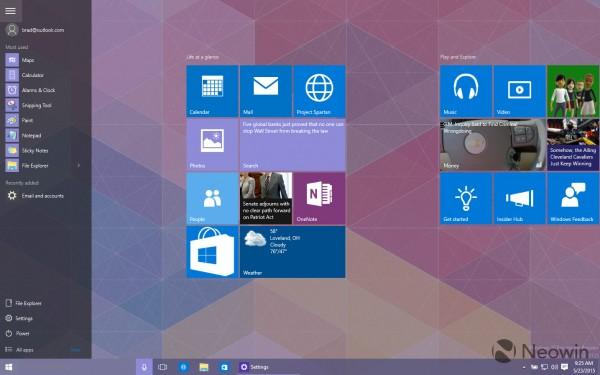 微软将在7月份发布Windows 10 RTM
