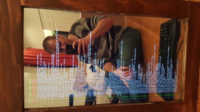 用树莓派打造超酷的魔镜