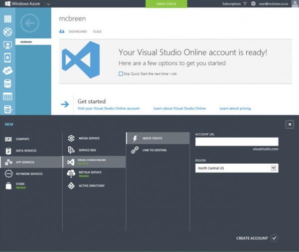 "微软公布了Visual Studio Online和""Monaco""的更多细节"