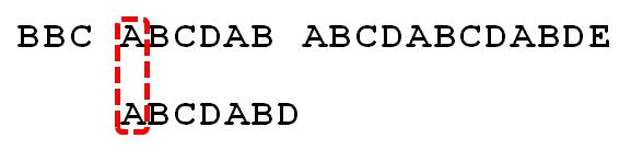 字符串匹配的KMP算法