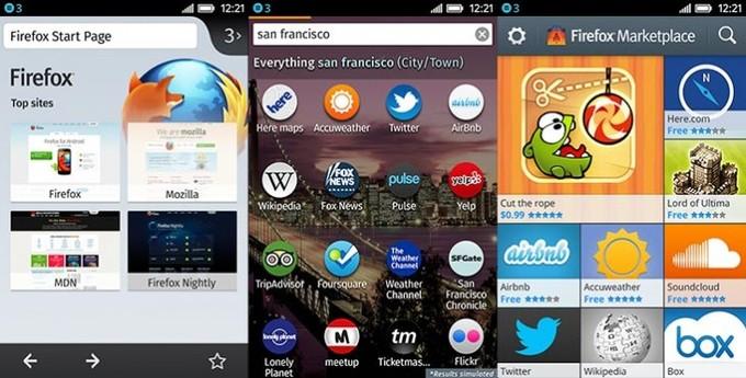 Firefox OS手机操作系统正式发布 华为成合作手机厂商