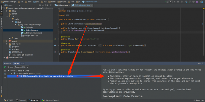 SonarLint for IntelliJ 1.4 发布