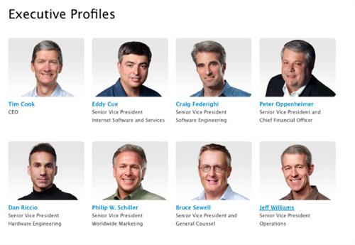 苹果员工一激动把首席设计师的照片从官网上删掉了