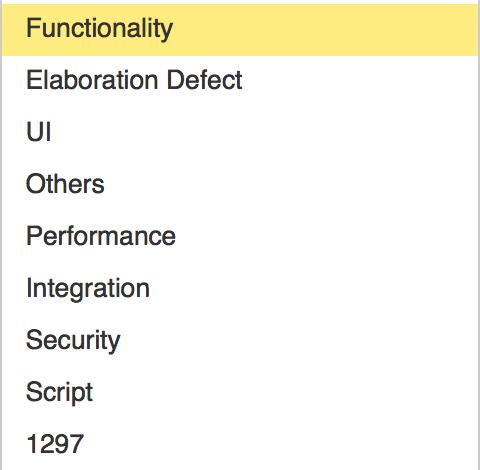 软件缺陷的有效管理