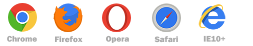 jQuery和CSS3响应式TAB选项卡样式幻灯片特效