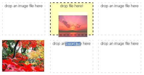 图片上传控件:Dropare