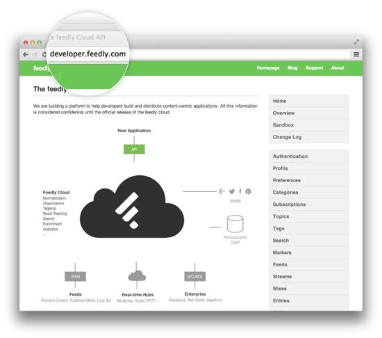 RSS还能这样玩:Feedly向所有开发者开放API