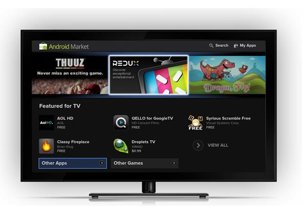 谷歌发布 Android TV 平台,视频应用和游戏一个都不能少