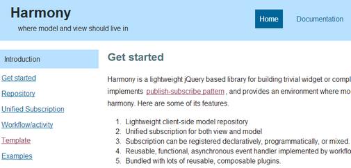 jQuery Harmony