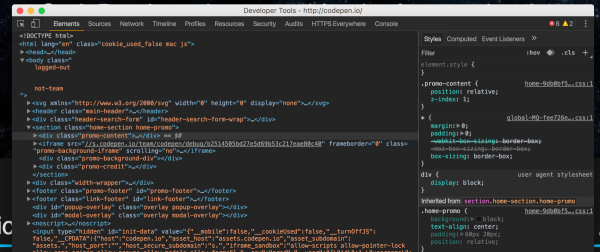 Chrome开发者工具终于迎来黑色主题
