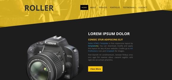 Roller - best html5 templates